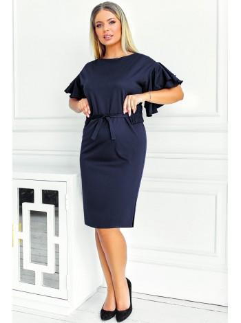 Нарядное платье с воланами Санторини